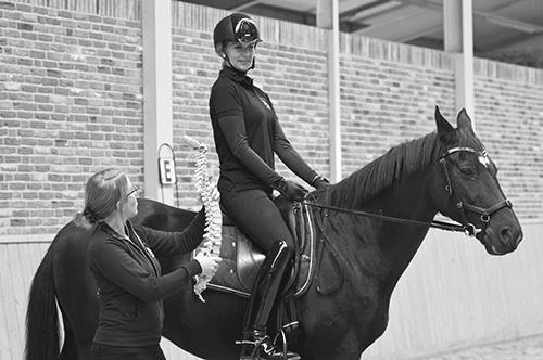 houdingscorrectie hippische sportoefentherapie te paard