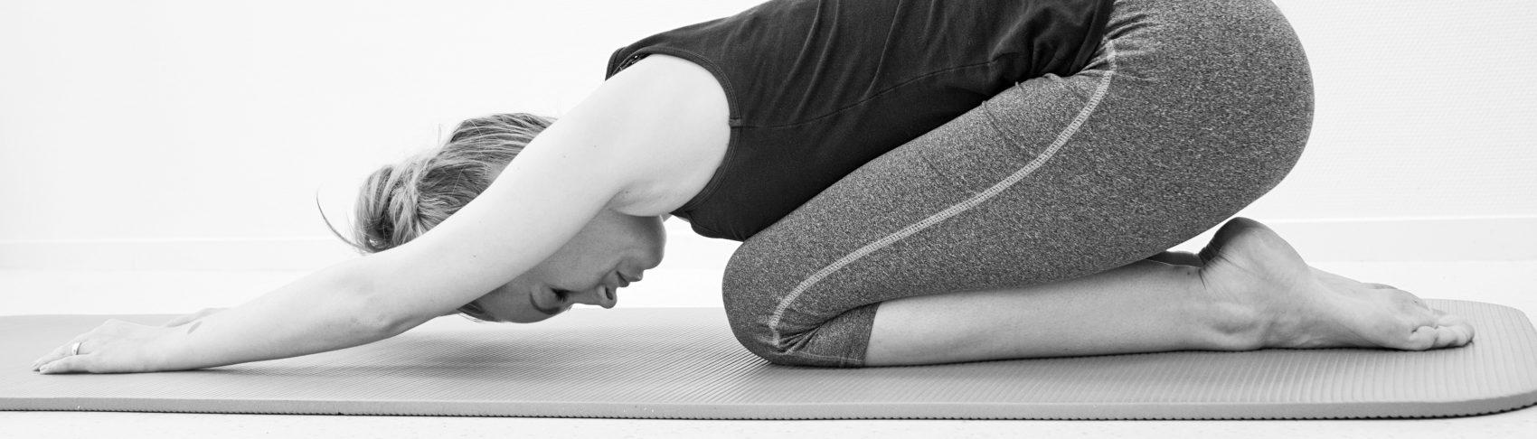 rekoefening schouder arm en rugspieren