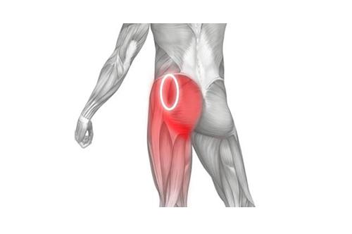 aanduiding pijn linker heup