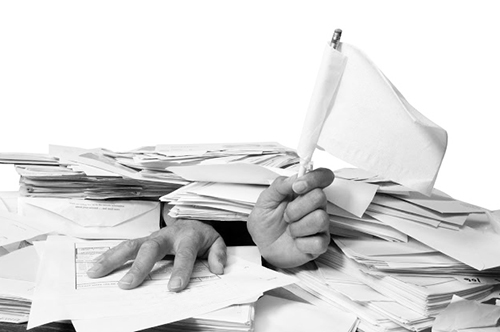 spanning stress en ademhalingsklachten door overbelasting op het werk
